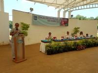 Arahan Bapak Ahadi Anggota DPRD Kota Tangerang Selatan dalam Sosialisasi  Produk Hukum Daerah di Taman Jaletreng