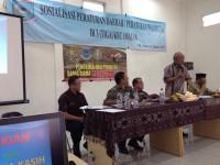 Sosialisasi Peraturan Perundang-undangan Daerah di Kecamatan